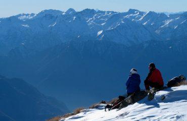 Capodanno Rifugio Arp Guide trek Alps Viaggi Natura nel Mondo