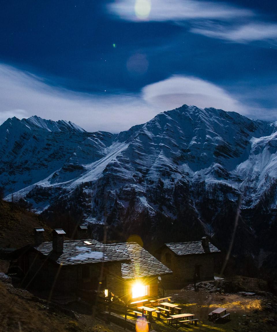 A cena con le ciaspole - Guide Trek Alps -  Viaggi in Natura