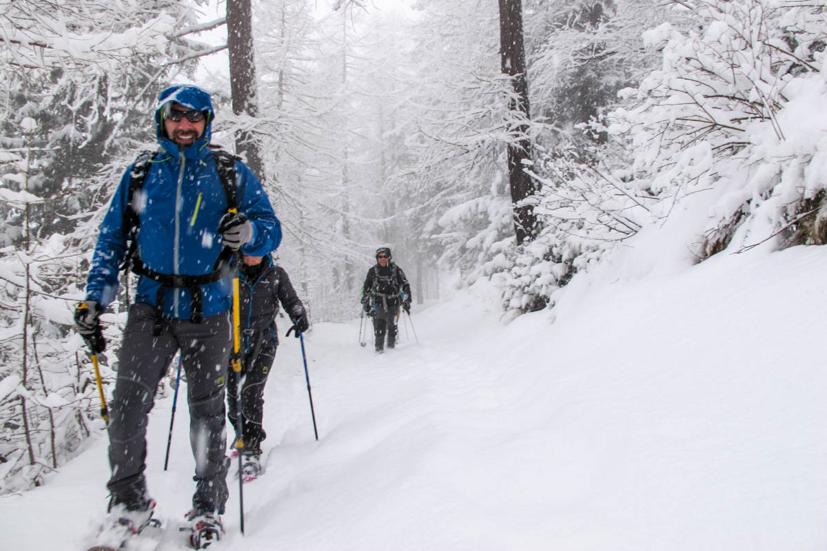 Lunch with Snowshoes - Guide Trek Alps - Viaggi Natura nel Mondo