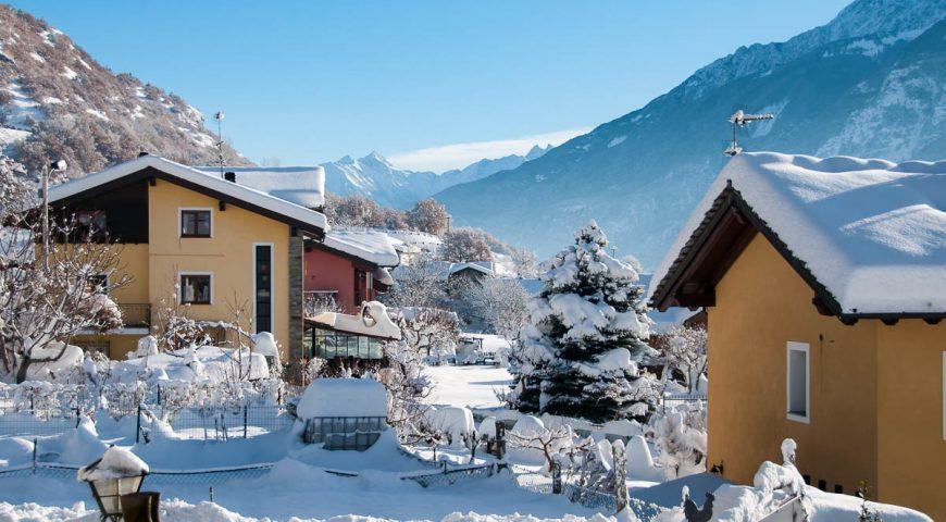 Nevicata in Valle d'Aosta – Guide Trek Alps – Viaggi in Natura nel Mondo