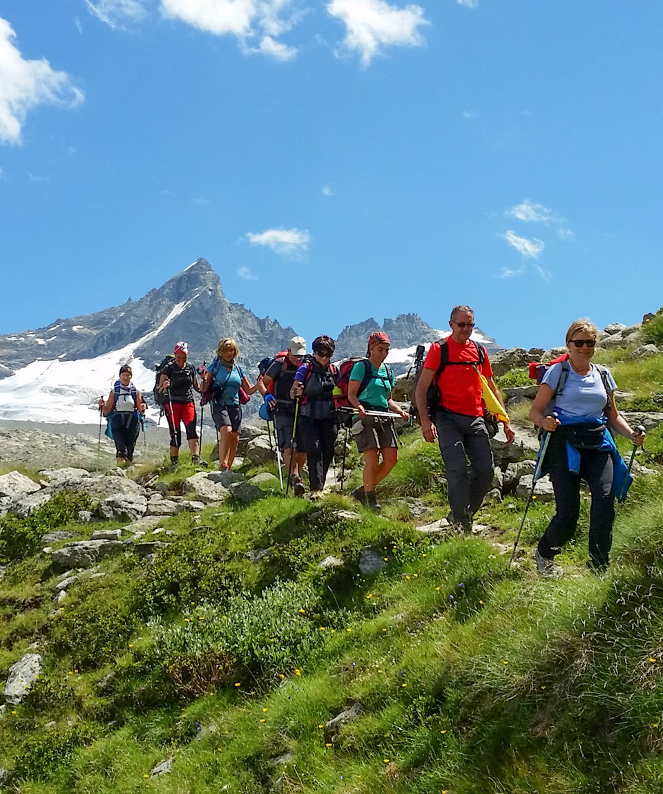 Short Trek in Paradiso - Guide Trek Alps - Viaggi Natura in Mondo