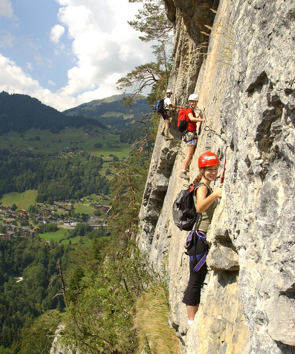 Via ferrata - Guide Trek Alps - Viaggi in Natura nel Mondo