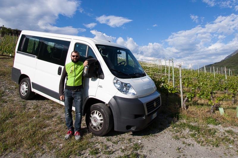 Servizio Transfer - Guide Trek Alps - Viaggio