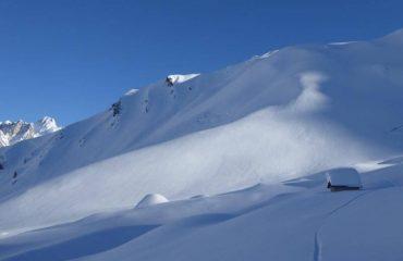 Ciaspolata con il Monte Bianco - Guide Trek Alps - Viaggi in Natura nel Mondo