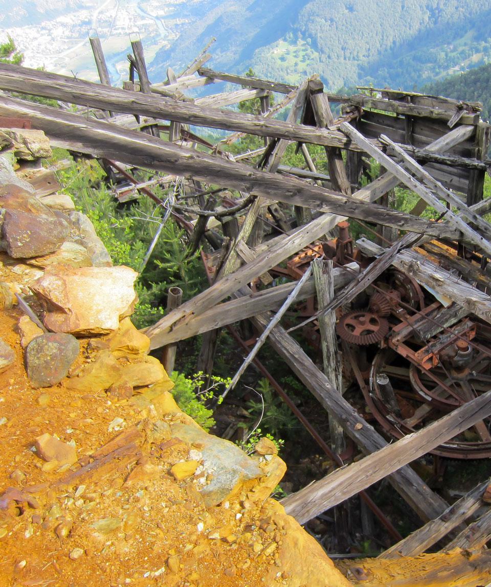 Miniere di Herin - Guide Trek Alps - Viaggi in Natura nel Mondo